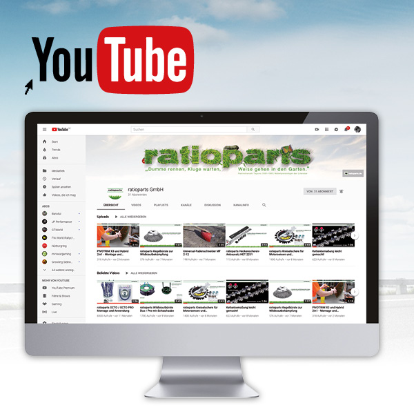 ratioparts Youtube Kanal